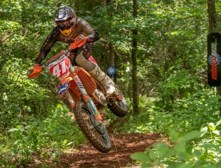 FMF KTM's Josh Toth Wins Cherokee National Enduro