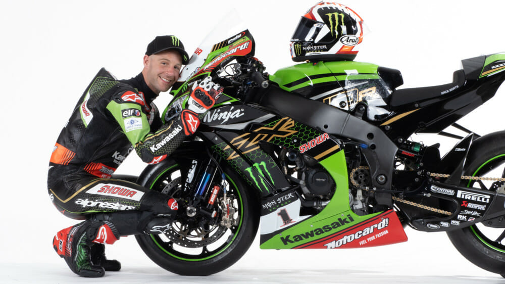 Jonathan Rea Signs with Kawasaki and KRT in WorldSBK for Two More Years