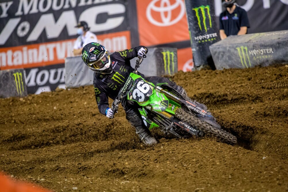 Monster Energy Pro Circuit Kawasaki's Garrett Marchbanks Bounces Back to Top Five Finish