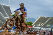 Monster Energy Pro Circuit Kawasaki's Garrett Marchbanks Ends Night Early