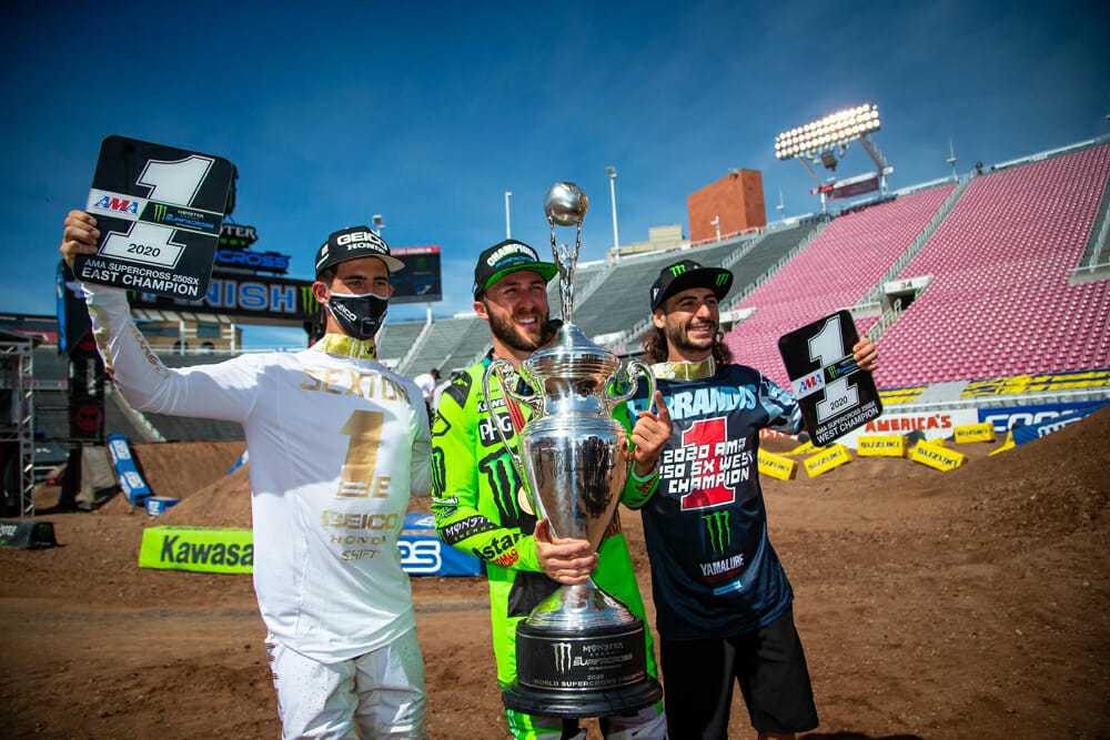 Eli Tomac, Dylan Ferrandis, and Chase Sexton Eye Continued Success in MX This Summer