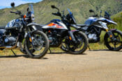 Small-Bore Adventure Bike Comparison