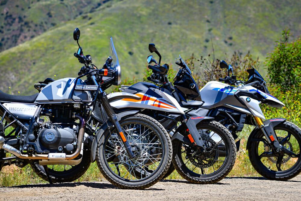 Small-Bore Adventure Bike Comparison