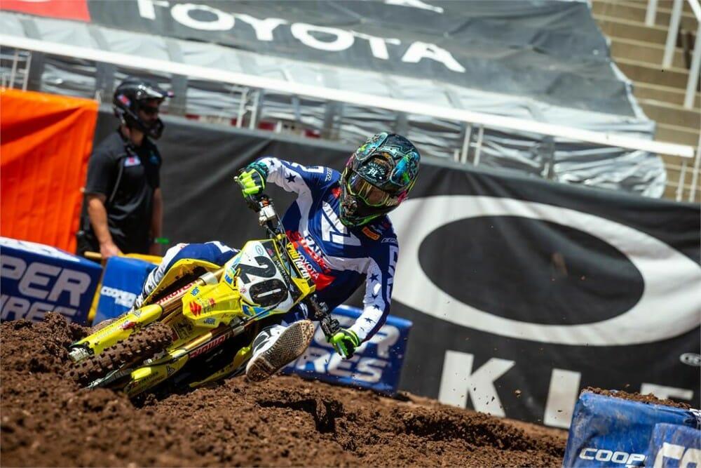 JGRMX/ Yoshimura/ Suzuki Racing Supercross Round 15 Race Recap
