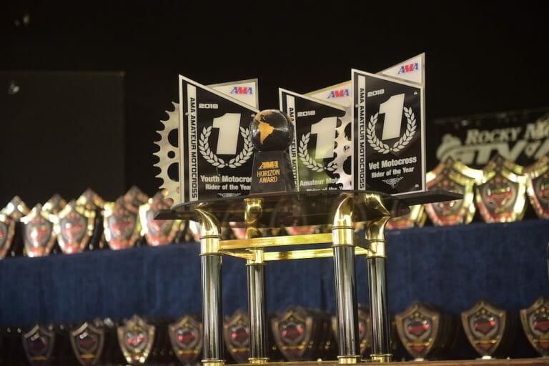 2018 AMA Amateur National Motocross Trophies