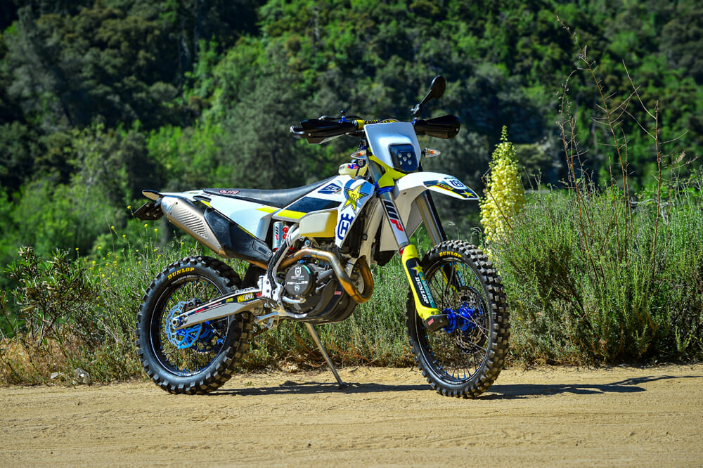 This 2020 Husqvarna FE 501S has it all.