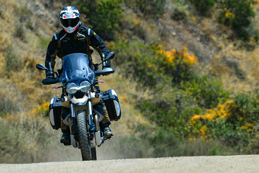 The 2020 Moto Guzzi V85 TT Travel is a different type of touring companion.