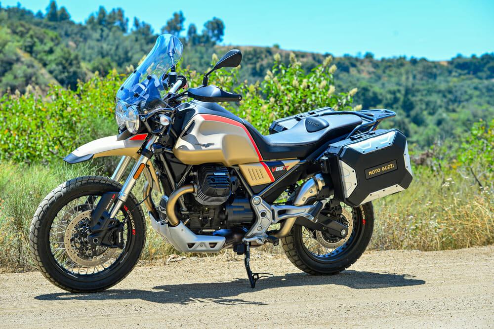 2020 Moto Guzzi V85 TT Travel Specifications