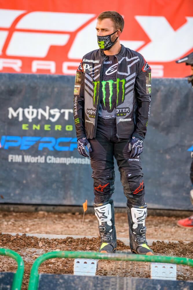 2020 Supercross Champion Eli Tomac