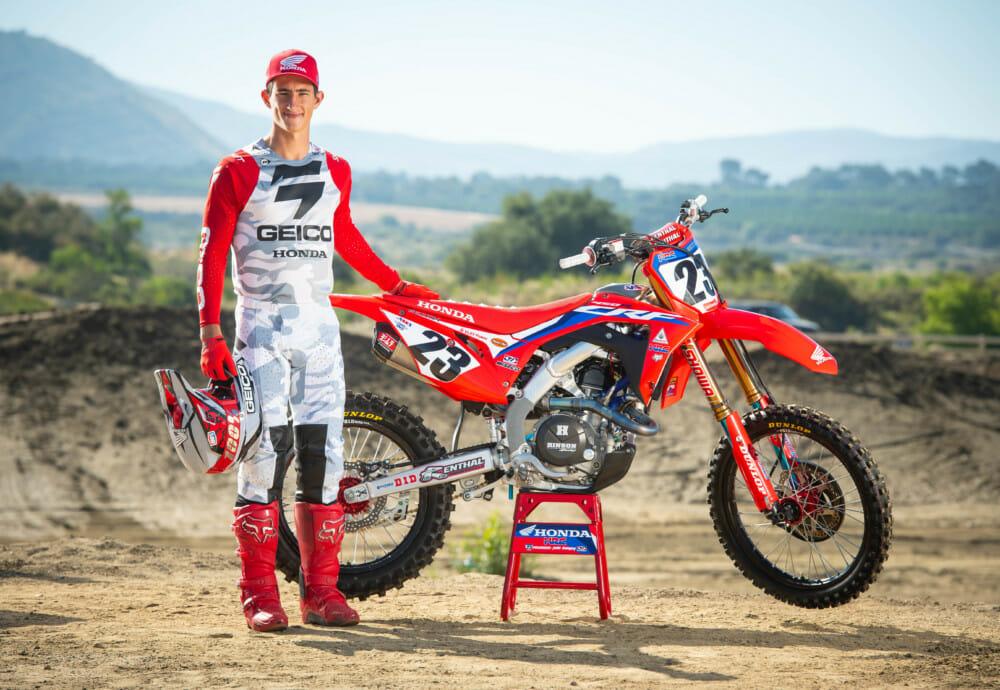 Team Dunlop Elite's Chase Sexton