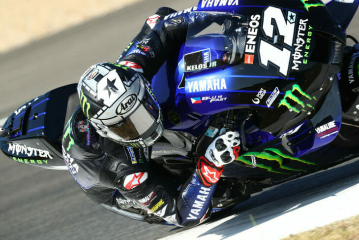 2020 Andalucia MotoGP Vinales Friday