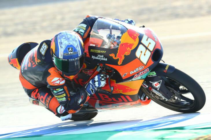 2020 Andalucia MotoGP Fernandez Friday