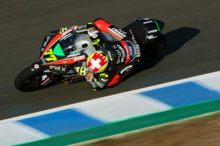 2020 Andalucia MotoGP Results MotoE Q2