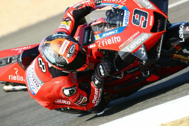 2020 Andalucia MotoGP Petrucci Friday