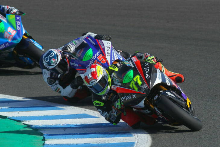 2020 Andalucia MotoGP Results and News Sunday Aegerter