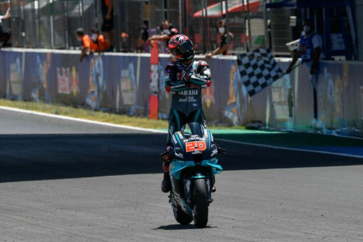 2020 Andalucia MotoGP Results and News Sunday Quartararo