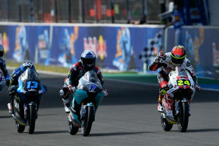 2020 Andalucia MotoGP Results and News Sunday Suzuki