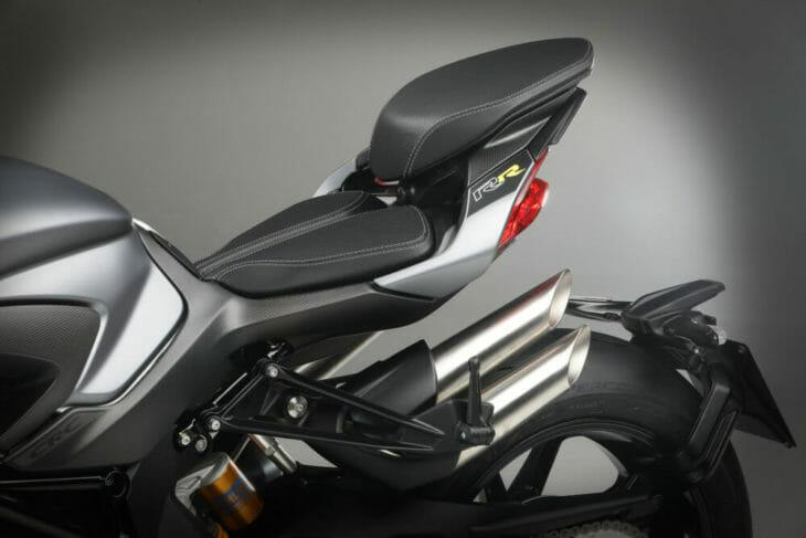 2020 MV Agusta Brutale 1000 RR back seat