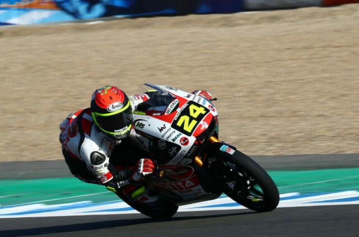 2020 Spanish MotoGP Suzuki takes Moto3 pole