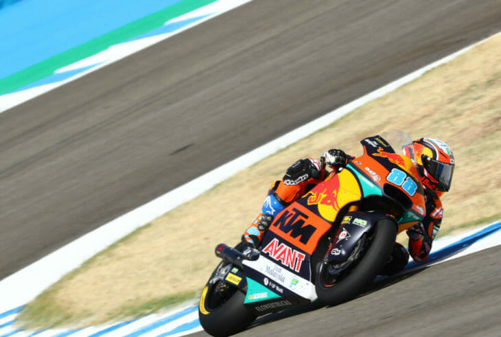 2020 Spanish MotoGP Martin takes Moto2 pole