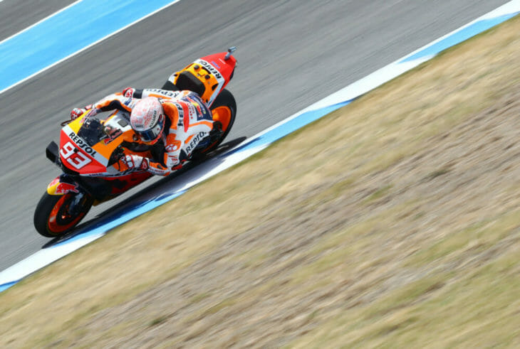 2020 Spanish MotoGP Results Marquez Saturday