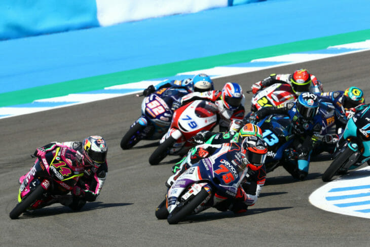 2020 Spanish MotoGP Results Arenas Sunday