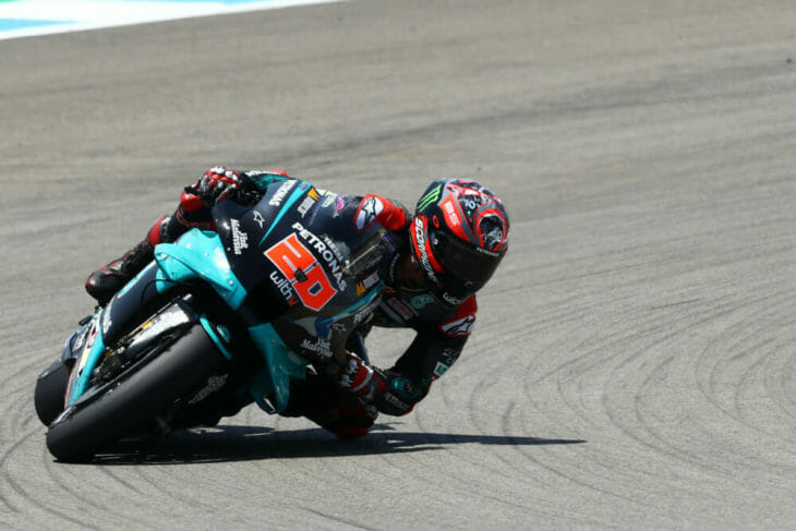 2020 Spanish MotoGP Results Quartararo Sunday