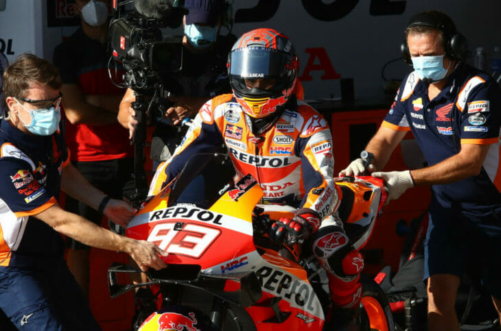 2020 Andalucia MotoGP Results Marquez
