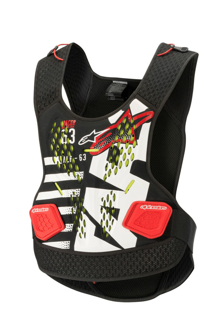 Alpinestars Sequence Chest Protector provides excellent protection while offering good comfort.