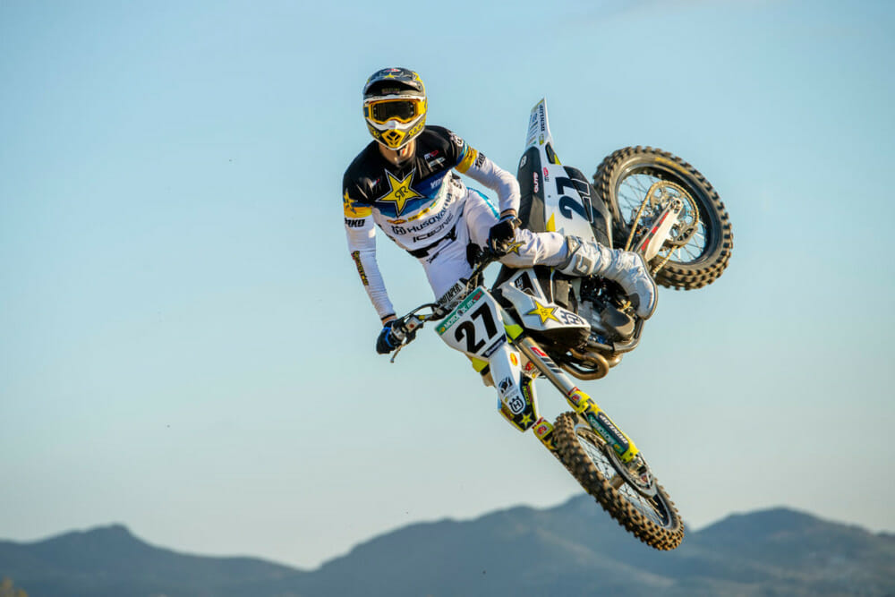Rockstar Energy Husqvarna Factory Racing Extends Contract With Arminas Jasikonis