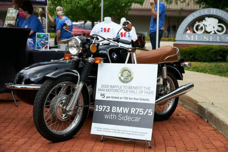AMA Motorcycle Hall of Fame Hosts Successful Open House and Bike Night