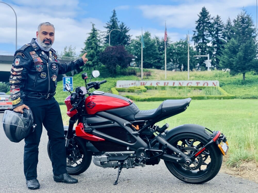 Harley-Davidson Electric Motorcycle Makes First U.S. Border-to-Border Journey