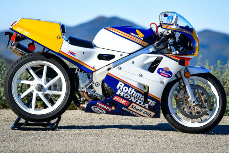 Cycle News Review 1990 Honda RC30