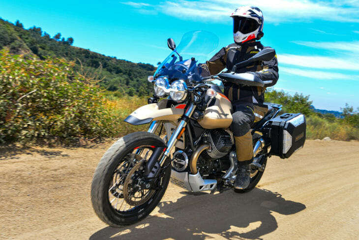 Cycle News 2020 Moto Guzzi V85 TT Travel Review