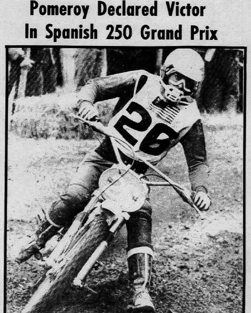 Archives | Jim Pomeroy - In 1973, Jim Pomeroy became the first American to win a motocross grand prix, and he did it in Europe.' The story behind that historic win is legendary, as was the man himself.