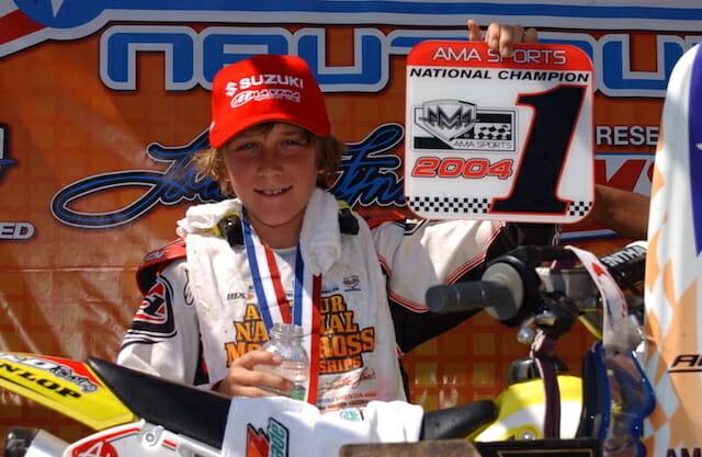 Eli Tomac 2004 Loretta Lynn's