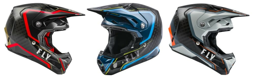 Fly Racing 2021 Formula Helmet in Axon graphic
