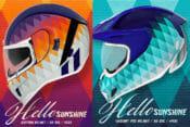 Icon Hello Sunshine Helmet Graphics