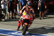 Marc Marquez at MotoGP Jerez 2020