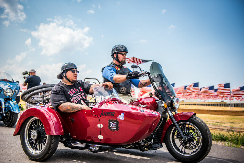 Indian Motorcycle Supports Charity Ride to Sturgis
