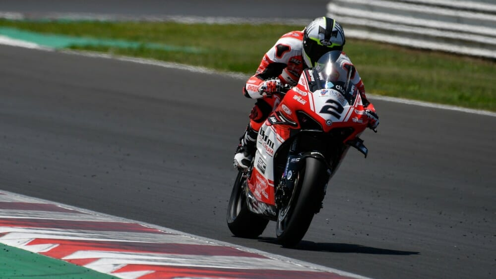 Leon Camier has parted ways with Barni Racing Team