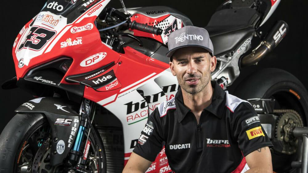 Marco Melandri Returning to WorldSBK for 2020