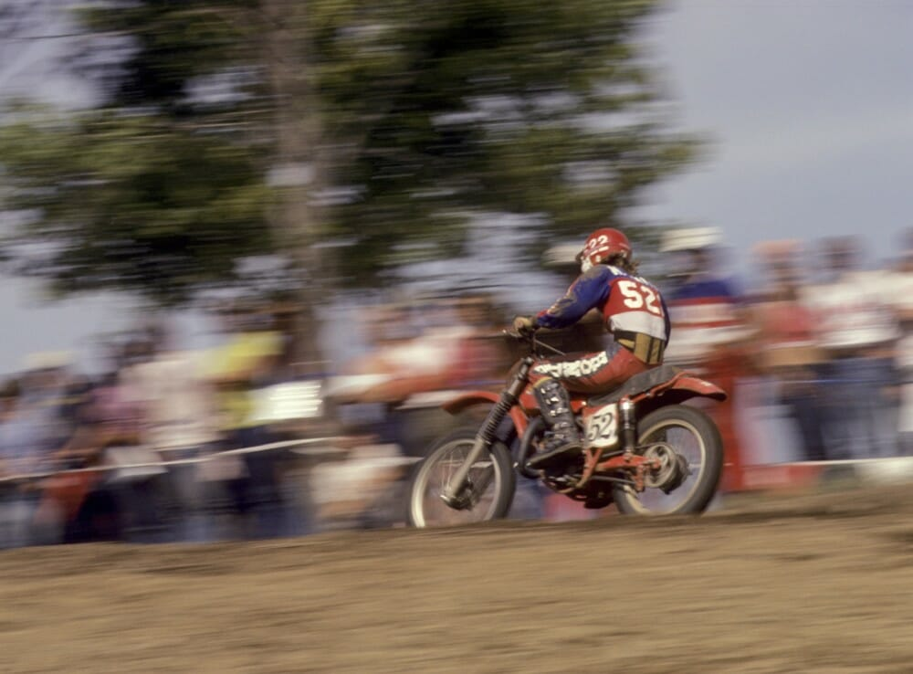 Marty Smith captured the first ever 125cc AMA National Championship in 1974 at just 17 years of age. Photo: Dick Miller