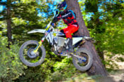 Cycle News review of Andrew Jefferson's 2020 Husqvarna FE 501S Project bike.