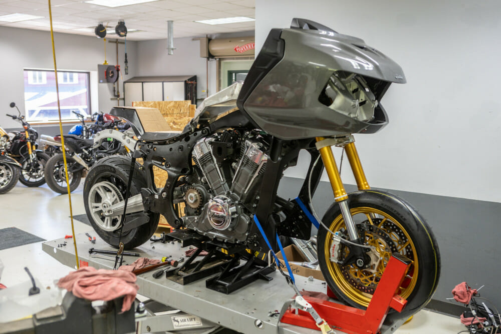 Indian Motorcycle and S&S Cycle to Race Inaugural King of the Baggers
