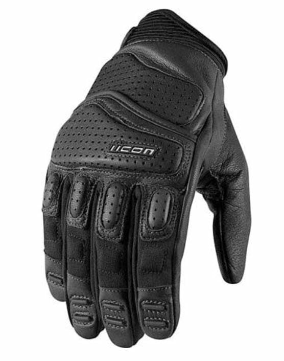 Street Motorcycle Gloves from BikeBandit - Icon Super Duty 2 Motorcycle Gloves
