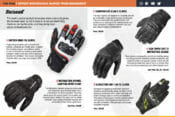 Street Motorcycle Gloves from BikeBandit magazine screen shot