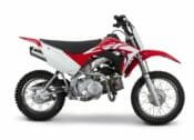 Two Brothers Racing has a new heavy-duty footpeg kit for the 2013-2020 Honda CRF110F