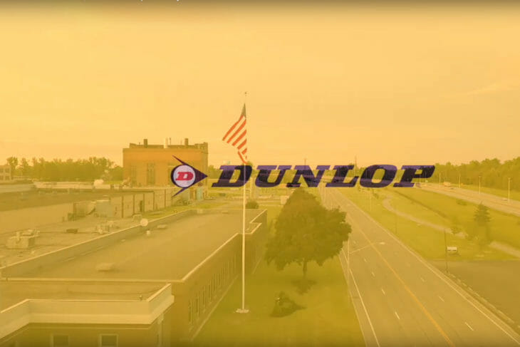 We are the American Worker. We are Dunlop Motorcycle Tires.