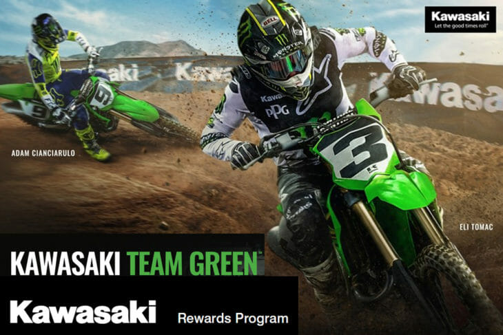 Kawasaki Team Green Releases 2021 Racer Rewards Program